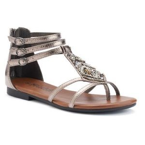 NIB Mudd Gladiator Sandals